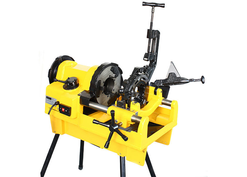 "Heavy Duty Electric Pipe Threading Machine for Steel Pipe 1/4""-4"" Hongli SQ100F 1224"